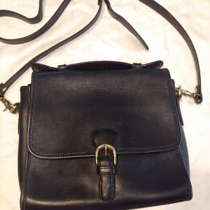 Hunt club all leather crossbody